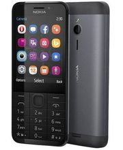 Nokia 230 DualSim, tmavo strieborná