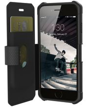 UAG flipové pouzdro Metropolis Black pro iPhone 7/6s, černé